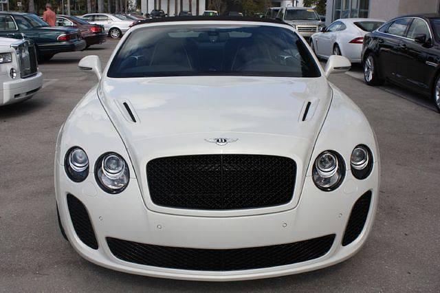 Bentley Supersport Cabrio V12 Florema Florida Real Estates