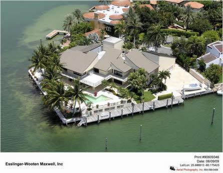 Mansions For Sale in Miami Beach Miami Beach Villa For Sale